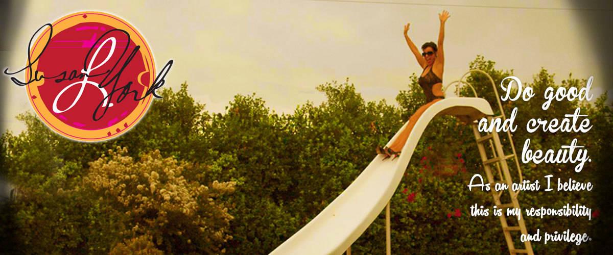 susan slides!